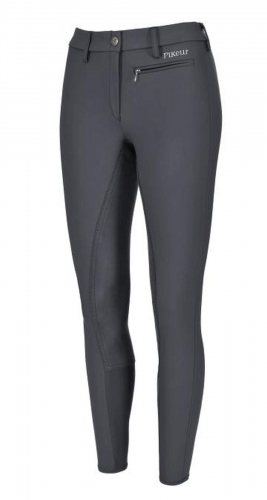 "Pikeur Damenreithose "" LUGANA STRETCH "" 3/4 Mc Crown Gesäßbesatz"
