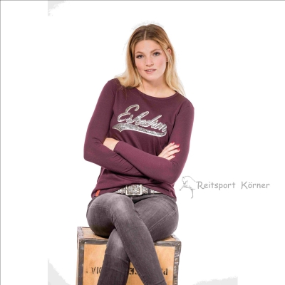 "Eskadron Fanatics Shirt Women  "" DANA Longsleeve "" , blackberry"