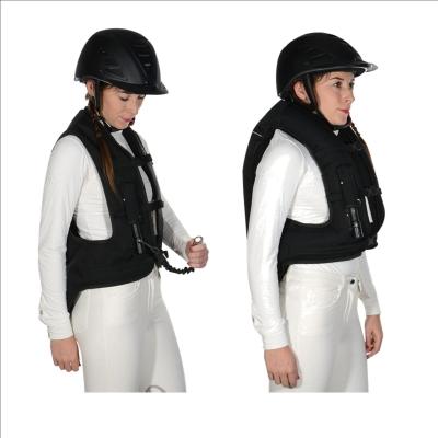 reit und fahrsporthandel helite airjacket sicherheitsweste airbag weste. Black Bedroom Furniture Sets. Home Design Ideas