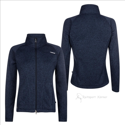 "euro-star Sweater "" FENJA "" , Damenjacke aus Strickfleece"