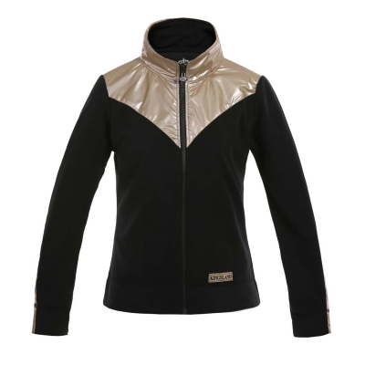 "Kingsland Damen Fleece Jacke ""St. Albert"", black, Größe XXS"