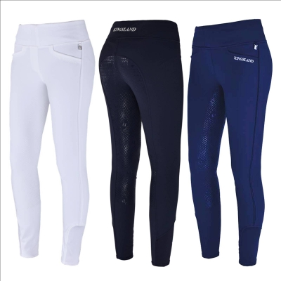 Kingsland Damenreitleggins, PullOn-Reitleggings Katja mit Voll-Grip, E-Tec