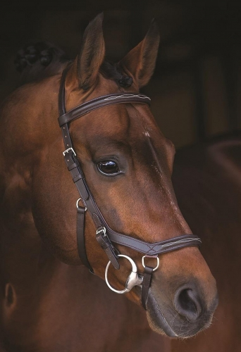 Horseware Rambo Micklem Competition DELUXE Bridle, Trensenzaum Horseware