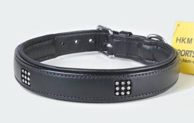 "Lederhundehalsband "" Diamonds """